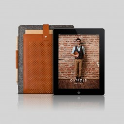 IPad & IPad Air case OSTFØLD 698 Brown