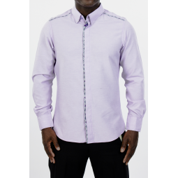 Lagos jacinthe Men shirt by Keve