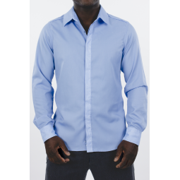 London style blue shirt
