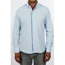 Madrid blue shirt by Kévé