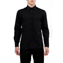 Black zipper shirt