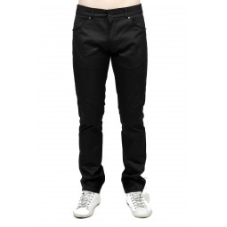 BLACK CLASSIC FIT PANTS FOR MEN