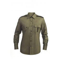 SHEVRON PANEL SHIRT