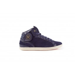 NAVY SUEDE LEATHER BARONS