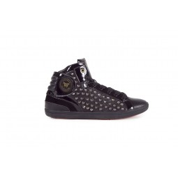 ALL OVER GUN METAL BIG STUDS BARONS