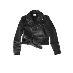 LEATHER BIKER JACKET FOR MEN